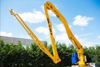 CONCRETE PLACING BOOM, OVERHAULED AND SERVICED. CIFA MK24.4Z – GROUND - Year 2004